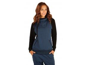 Modrá mikina dámská Litex 90145