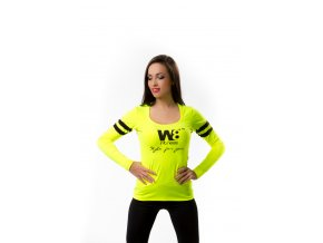 Žluté sportovní tričko W8 fitness Zara