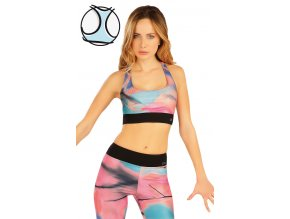 Krátký fitness top Litex 50044