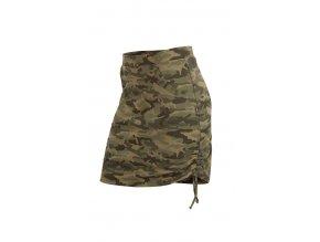 Maskáčová sportovní sukně s kapsami Litex 58026
