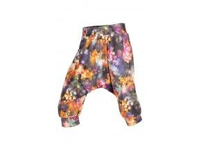 Dětské harémky kalhoty se sníženým sedem Litex 50460