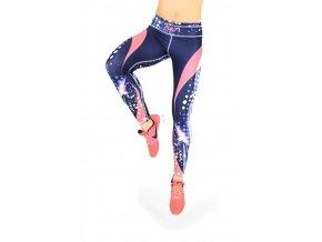 Sportovní fitness legíny barevné 2skin Revolution 3