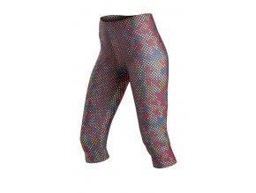 Barevné fitness legíny s délkou pod kolena Litex 50095