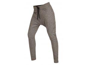 Šedivé kalhoty s nízkým sedem Litex 55334