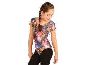 Dívčí dres s tiskem s krátkými rukávy Litex 50464 Na Cvíčo