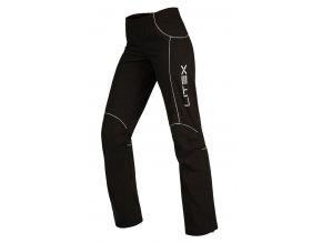 Sportovní kalhoty černé dámské Litex Microtec 51295