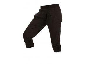 3 4 černé sportovní kalhoty Litex Microtec 55248