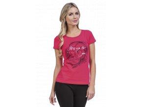 Bavlněné sportovní tričko dámské Na Cvíčo Draps 44 1