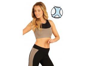 Fitness top se síťovinou Litex 51179