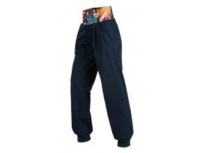 Sportovní kalhoty dámské Litex Microtec modré 51154