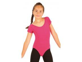 LITEX Dres dětský s krátkými rukávy 99440 - růžový