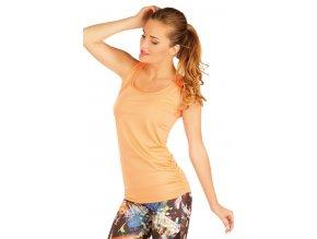 Oranžové fitness tílko dámské Litex 51156 Na Cvíčo