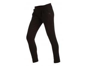Černé bavlněné kalhoty Litex 51117