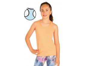 Oranžové dívčí sportovní tílko Litex 51452 Na Cvíčo