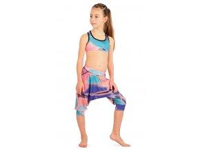 Dívčí kalhoty s nízkým sedem Litex 55436 Na Cvíčo