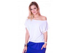 Taneční tričko bílé 2skin morgan 3