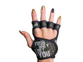 Fitness rukavice dámské GlovBel Cross 1