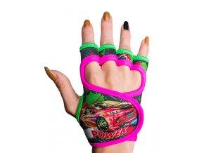 Fitness rukavice dámské s potiskem GlovBel Power 1