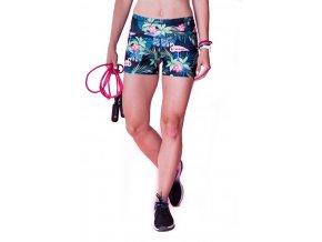 Fitness šortky Flamingo 2skin Na Cvíčo 1
