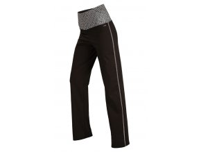 Sportovní kalhoty s vysokým pasem Litex Microtec 55254