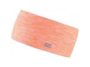Oranžová běžecká čelenka OXIDE