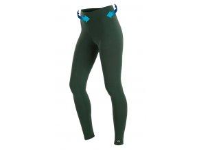 Zelené sportovní legíny Litex Supplex 58294