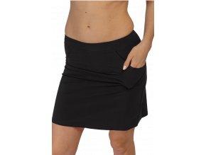 Černá sportovní sukně Draps Na Cvíčo 1