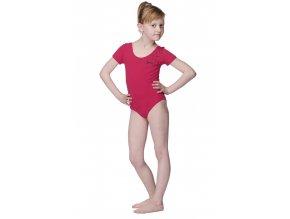 Růžový dívčí dres bavlněný s potiskem Draps 505 Na Cvíčo 1