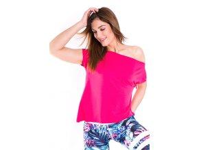 Taneční tričko růžové sensual pink 2skin Na Cvíčo 2
