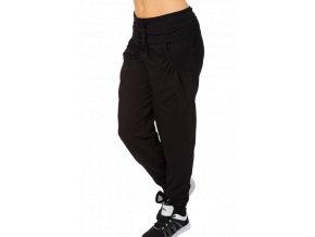 Dámské kalhoty s nízkým sedem Draps 355 černé 1