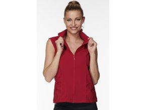 Červená funkční vesta dámská Draps 691 1