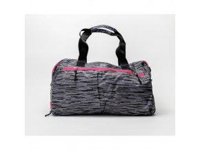 Sportovní taška Oxide šedá růžová 1
