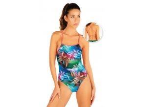 57460sportovní plavky jednodílné dámské
