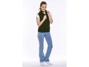 Dámské sportovní kalhoty modré Draps chamois 367 4