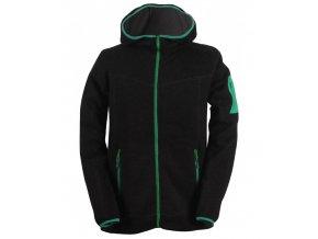 heden pansky svetr s kapuci a zipem