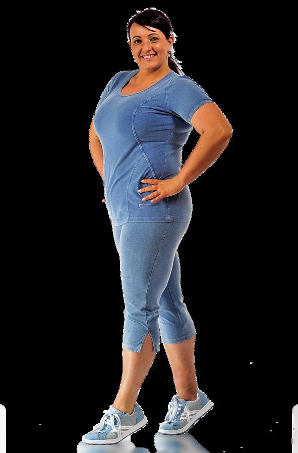 3/4 dámské sportovní kalhoty Draps 292 cha Velikost: S