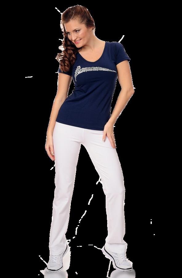 Sportovní kalhoty dámské Draps 367 - bílé Velikost: S