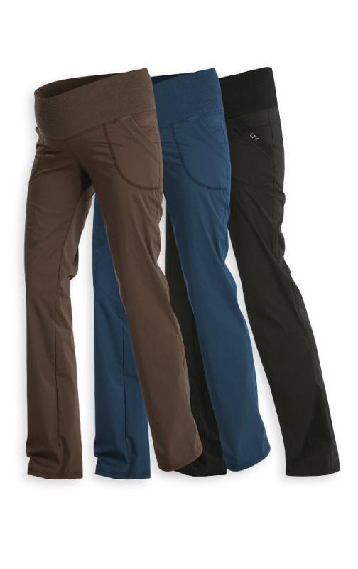 LITEX Kalhoty těhotenské dlouhé 99526 - modré Velikost: M