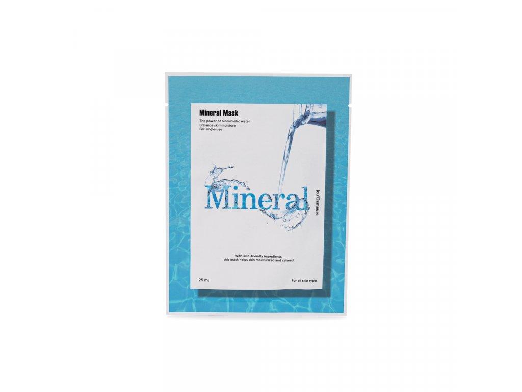 Jeu'Demeure Mineral Mask - hydratační pleťová maska / 5 ks