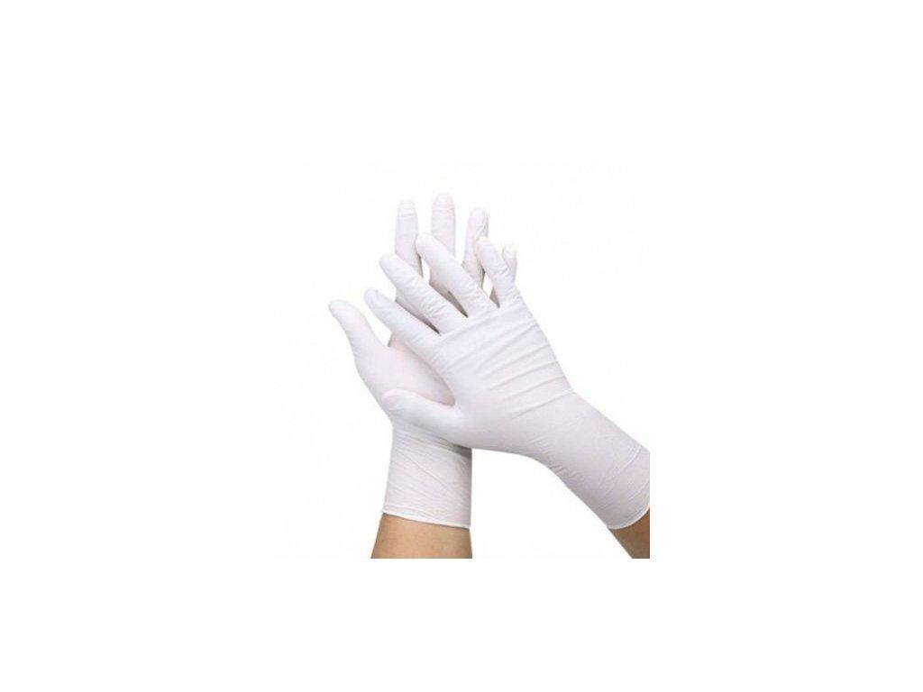 rukavice bílé