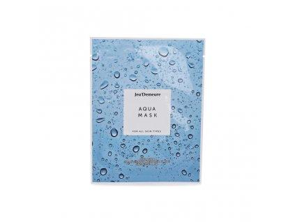 Jeu'Demeure Aqua Mask - hydratační plátýnková pleťová maska 25 ml / 1 ks
