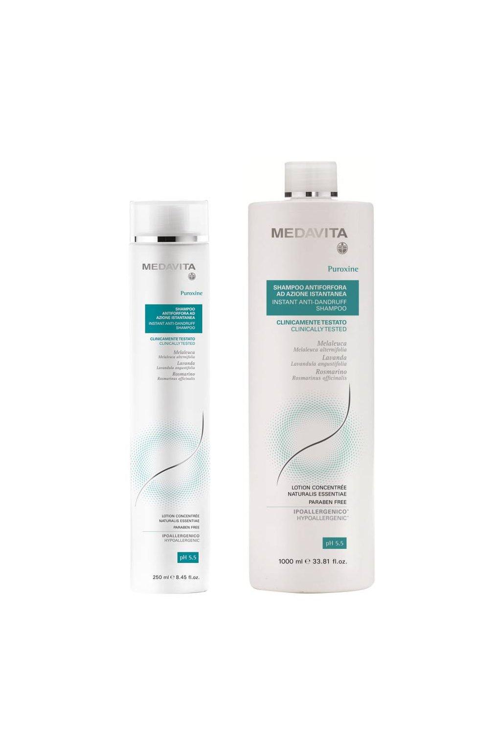 Medavita PUROXINE INSTANT Šampon proti lupům s Piroctone Olamine