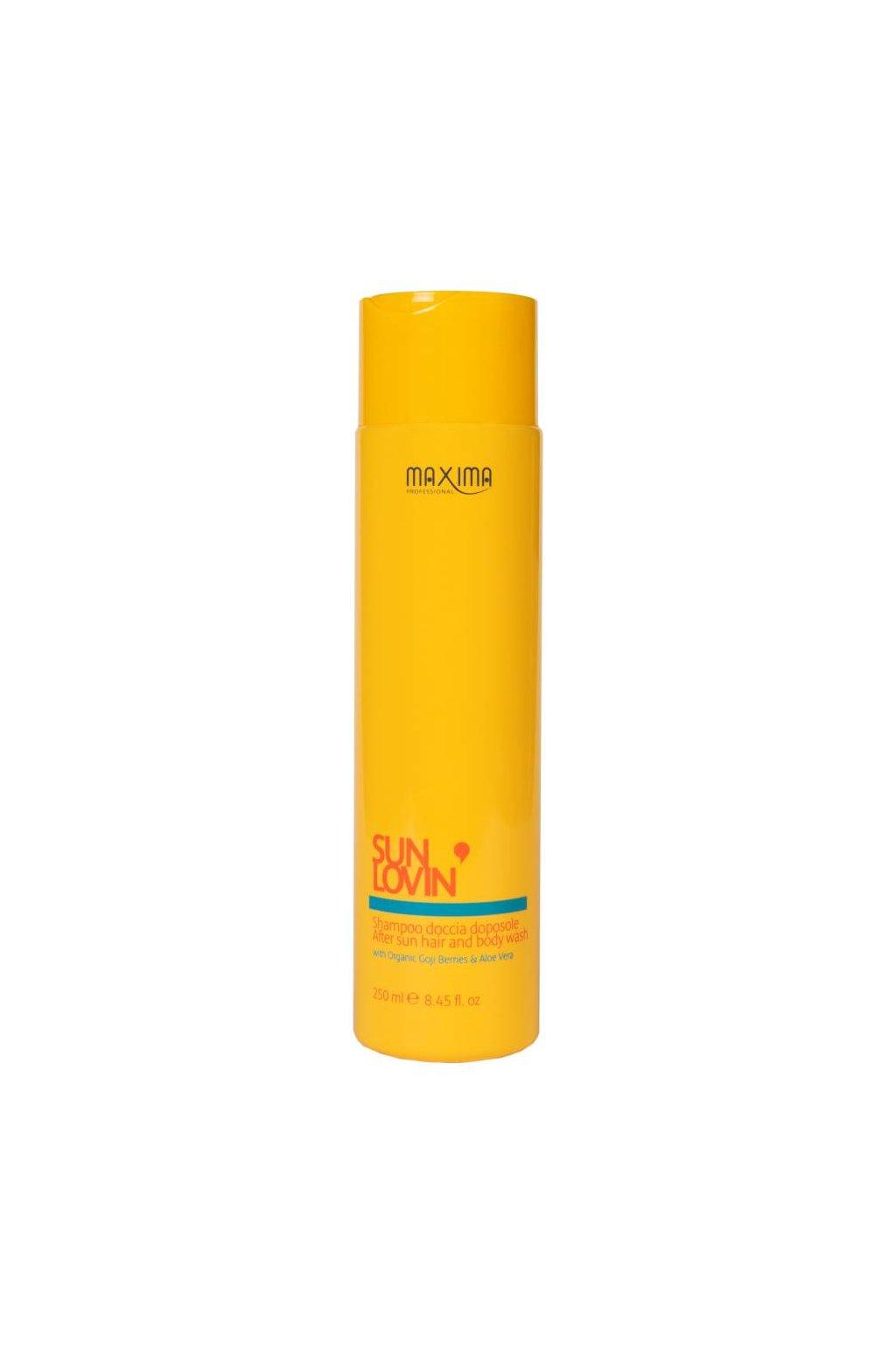 Maxima SUN Lovin Šampon na vlasy a tělo s goji a aloe vera 250ml