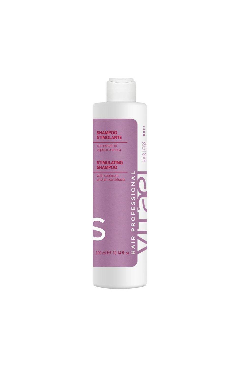 Vitael HAIR LOSS Šampon proti padání vlasů s výtažky papriky a arniky 300ml