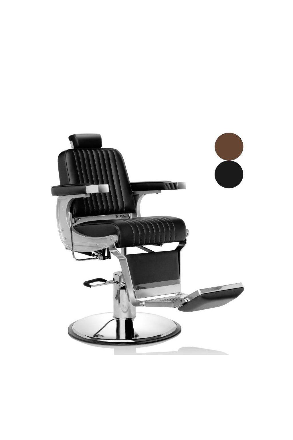 Křeslo pánské HAIR TRIUMPH hydraulika s brzdou (Barva Černá)