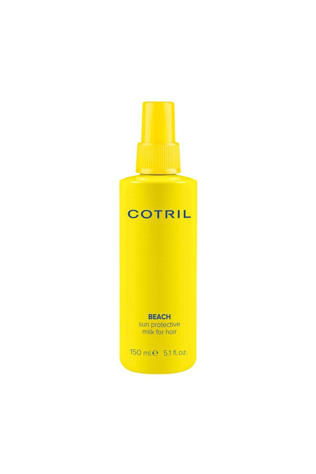 Cotril BEACH Mléko ve spreji na vlasy, ochrana a hydratace, SPF 10, 150ml