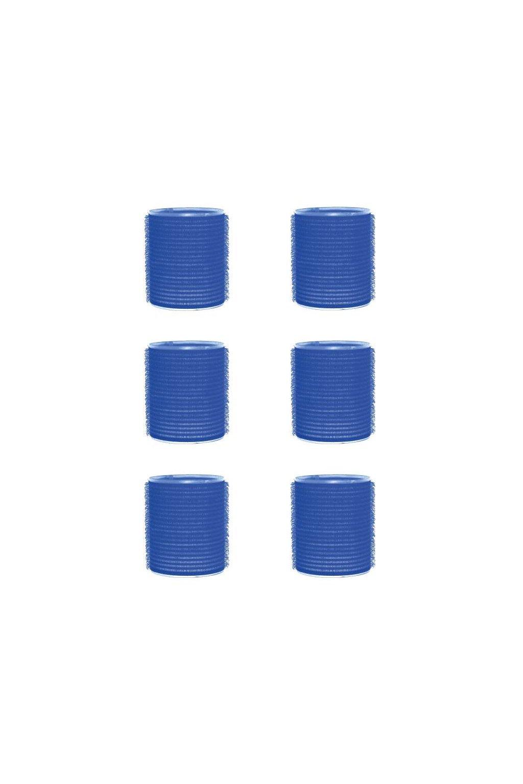 Natáčky suchý zip průměr 51mm modré tmavé Xanitalia