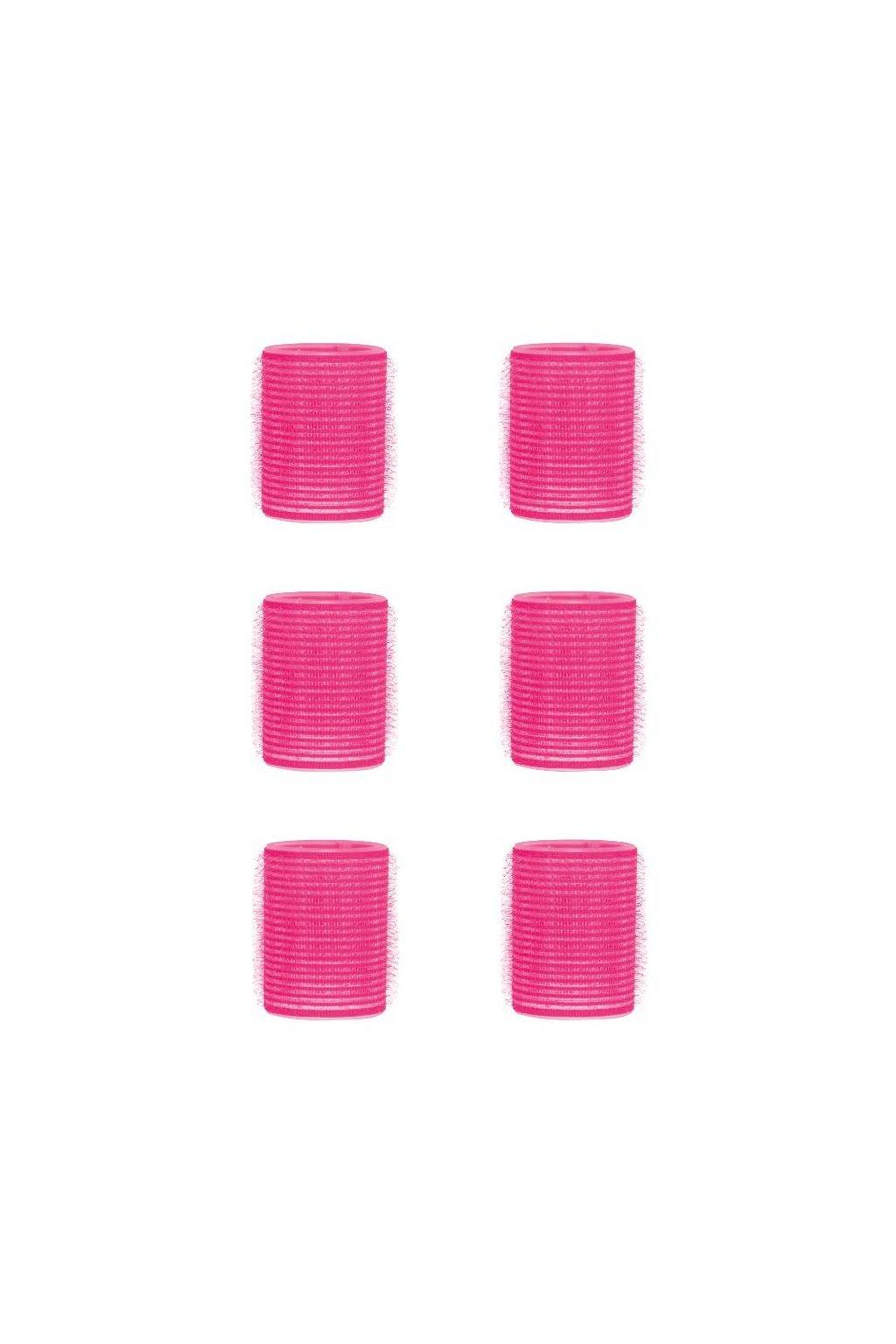 Natáčky suchý zip průměr 44mm růžové Xanitalia