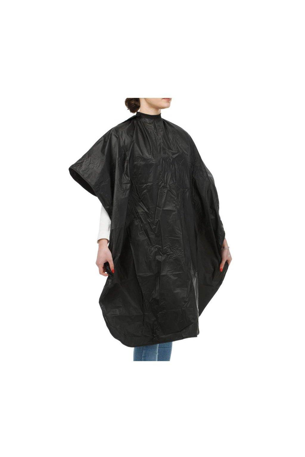 Plášť na barvení dlouhý 100x140cm pogumovaný černý Xanitalia