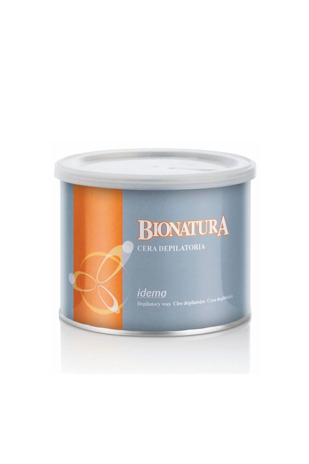 Epilační vosk Idema Bionatura přírodní bez parfemace a parafínu
